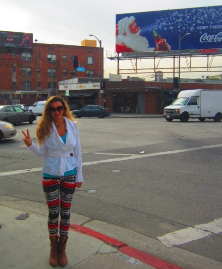Hollywood and my new awesome leggings