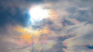 Chem trail or Angel Rainbow?