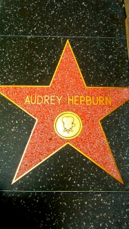After seeing street art and a quote I stumble on her star!