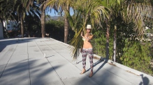 Hanging out with the Palms