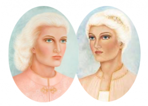 Ascended masters Lady Venus and Twin Flame Sanat Kumara