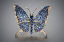 Benitoite Butterfly